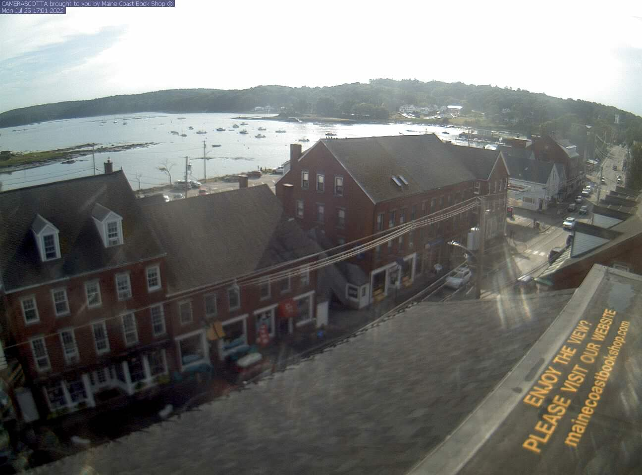 Damariscotta Webcam Webcam Courtesy The Maine Coast Book Shop, Damariscotta, ...