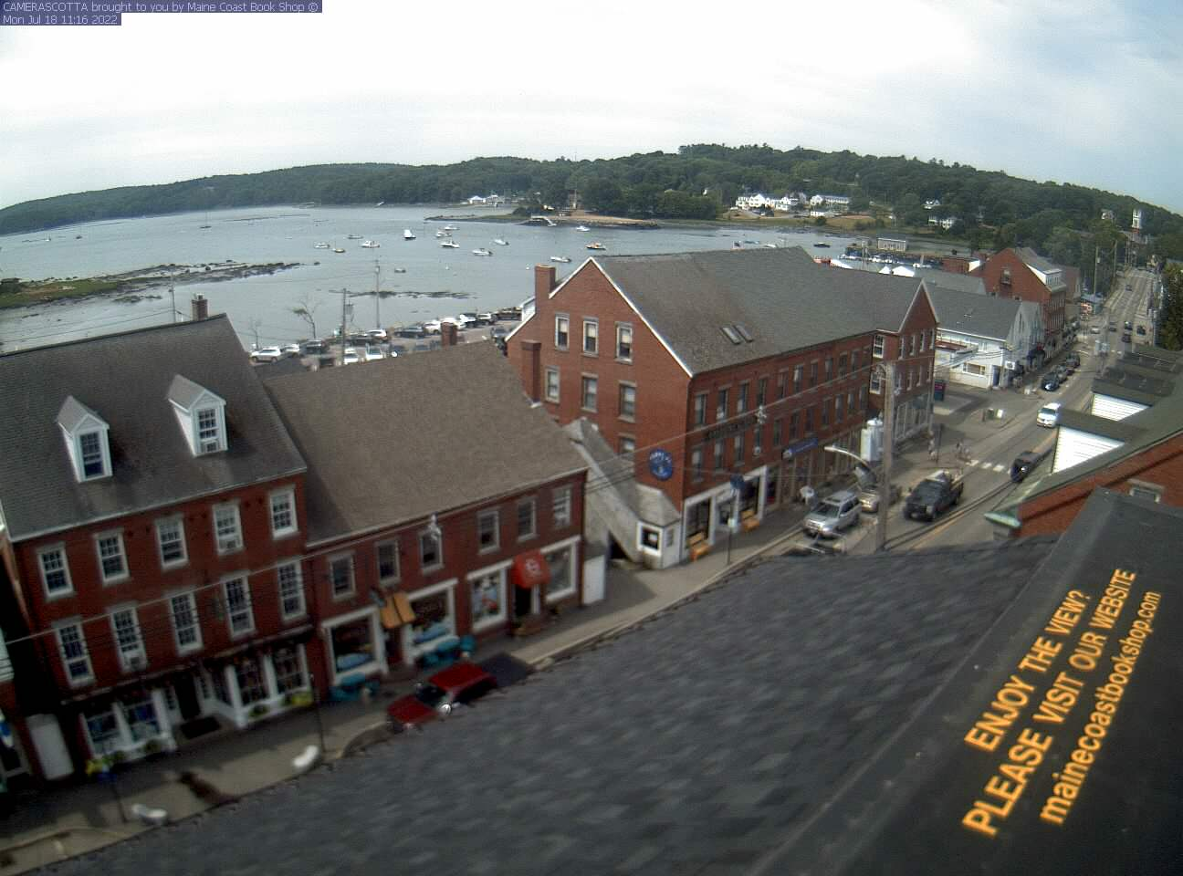 Damariscotta webcam - Damariscotta webcam, Maine, Lincoln County